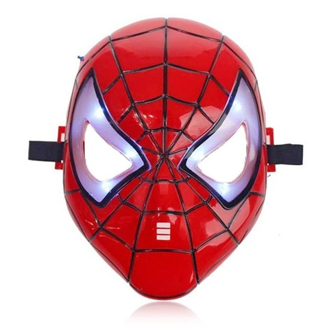 Spider Man Mask With Light