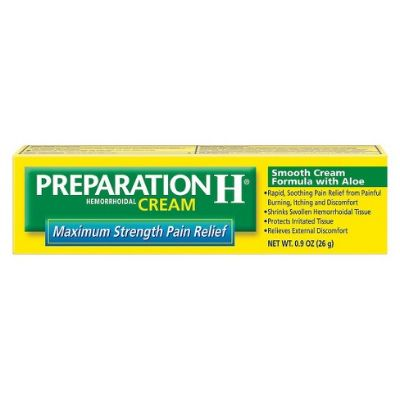 Preparation H Max Strength