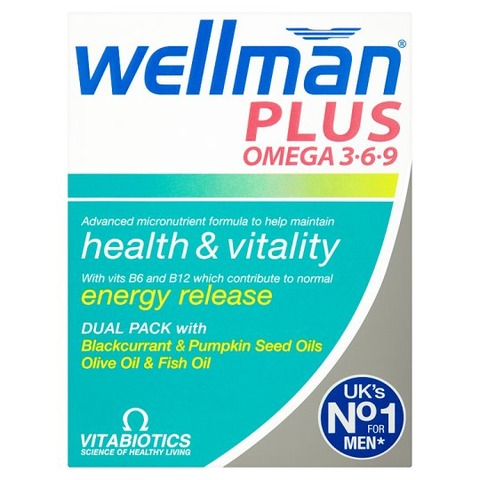 Vitabiotics Wellman Plus Omega 3.6.9