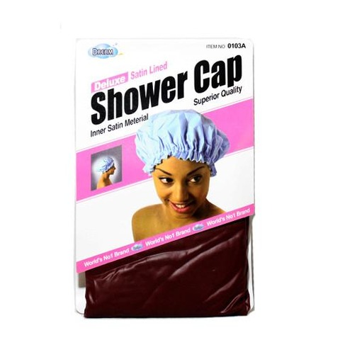 Dream Delux Satin Lined Shower Cap