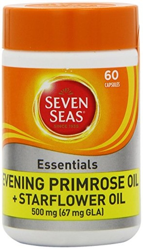 Sevenseas Evening Primrose & Starflower Oil 500mg 60s