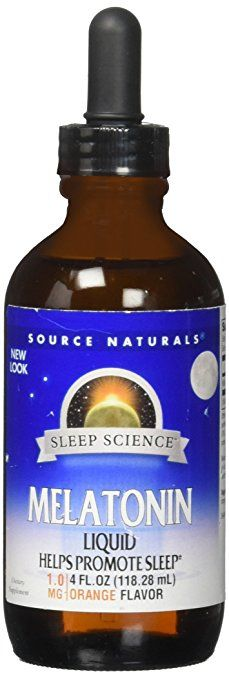 Source Naturals Melatonin Liquid 1mg  4oz
