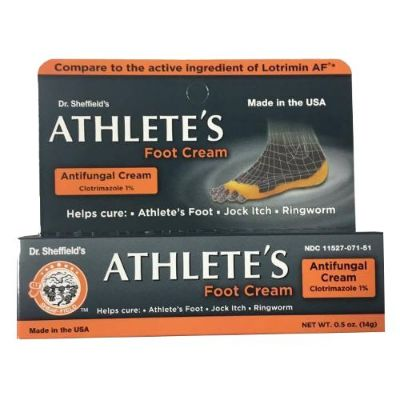 Dr Sheffield Athelete's Foot Cream 14g