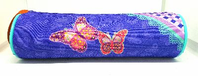 Pencil Case - Butterfly Pouch Round