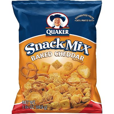Quaker Snack Mix Baked Chedder