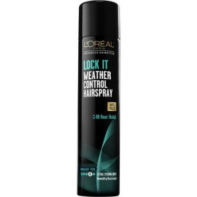 L'oreal Lock It Weather Control Hairspray