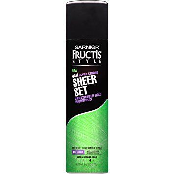 Garnier Fructis Style 48h Ultra Strong Sheer Set Breathable Hold Hairspray