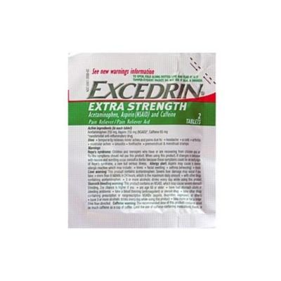 Excedrin Extra Strength Tablets 2 Pack