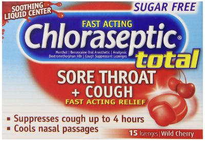 Chloraseptic Total Sore Throat & Cough Sf Lozenges