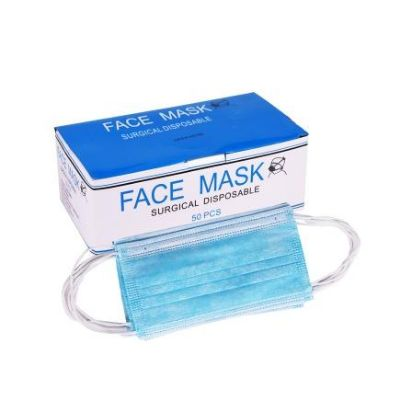 Face Mask Surgical Disposable 50s