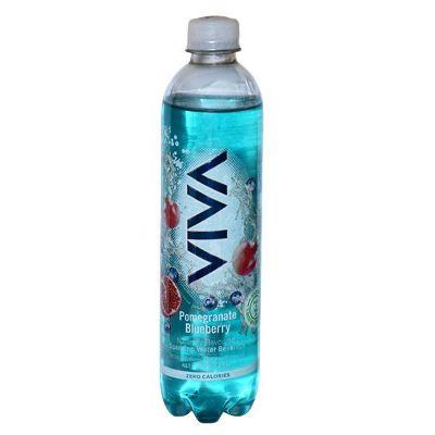Aqua Pharmacy Barbados Viva Pomegranate Blueberry Sparkling Water